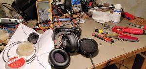 Réparation écouteur