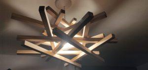 création lampe design