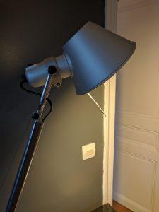 Réparation lampe Artemide